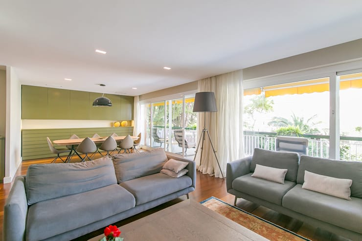 غرفة المعيشة تنفيذ Isa de Luca