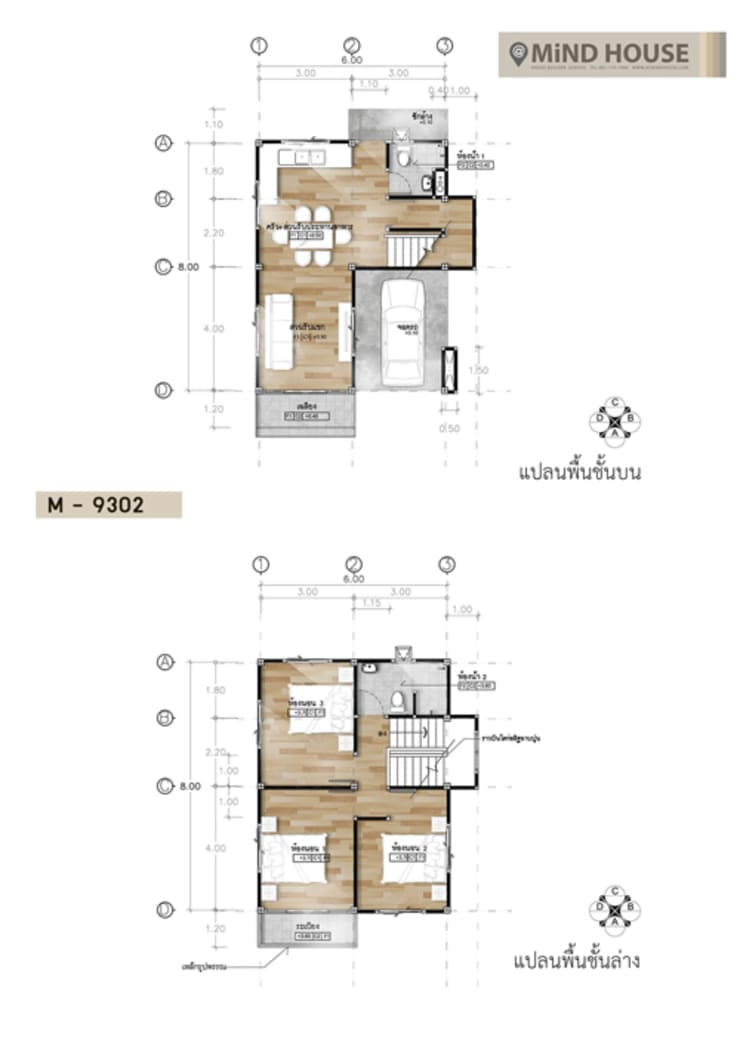 Floor Plan_M9302:   by At Mind House