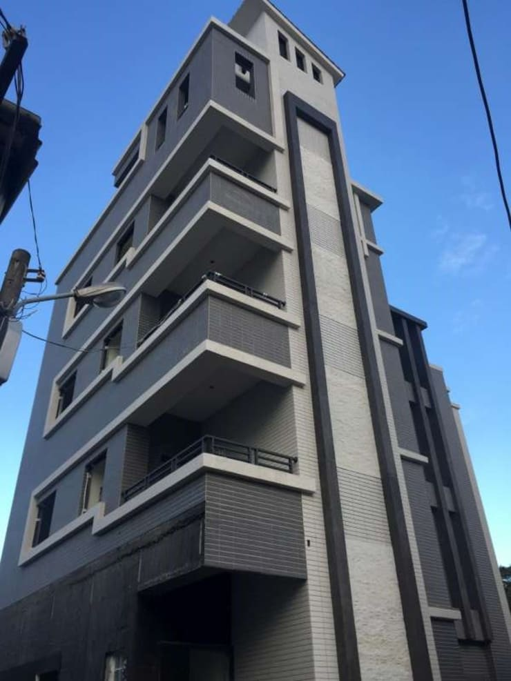外觀:  辦公大樓 by 綠藝營造