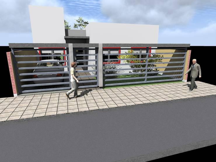 Vivienda FB: Casas de estilo  por MRArquitectura,