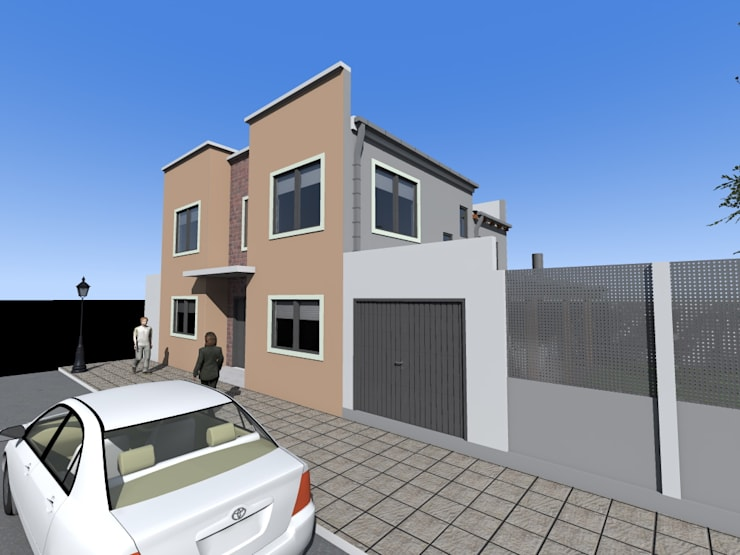 Vivienda RC: Casas de estilo  por MRArquitectura,