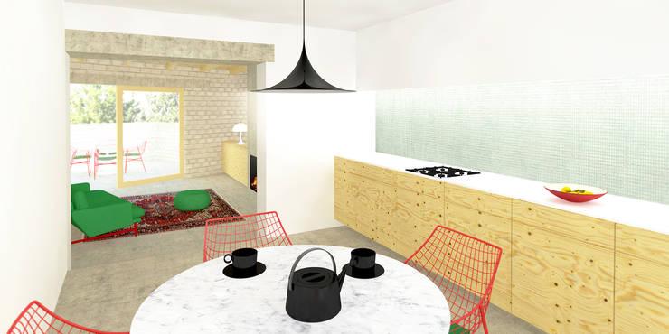 Keuken:  Keuken door De Nieuwe Context