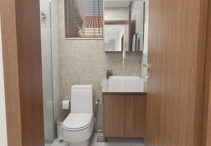 Bathroom by Filipe Castro Arquitetura | Design