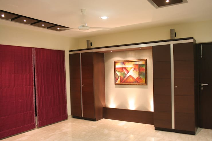 Interior:  Bedroom by Bss Design and Interiors Pvt.Ltd,Modern