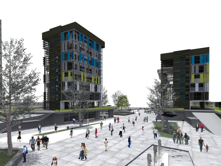 San Pablo - Usos mixtos: Espacios comerciales de estilo  por Bloque Arquitectónico, Moderno