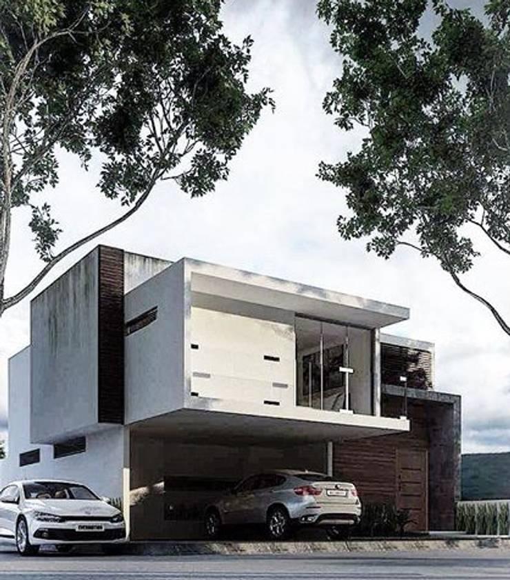 Moderne Ladenflächen von White Arquitectos Modern Beton