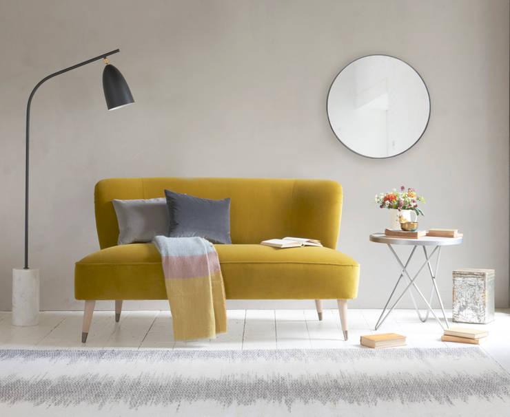 minimalistic Living room تنفيذ homify