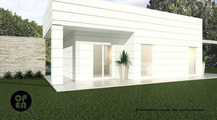 Maisons de style  par ATELIER OPEN ® - Arquitetura e Engenharia, Moderne