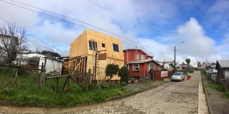 Vivienda Melipulli.: Casas de estilo  por Cordova Arquitectura y Construcción .