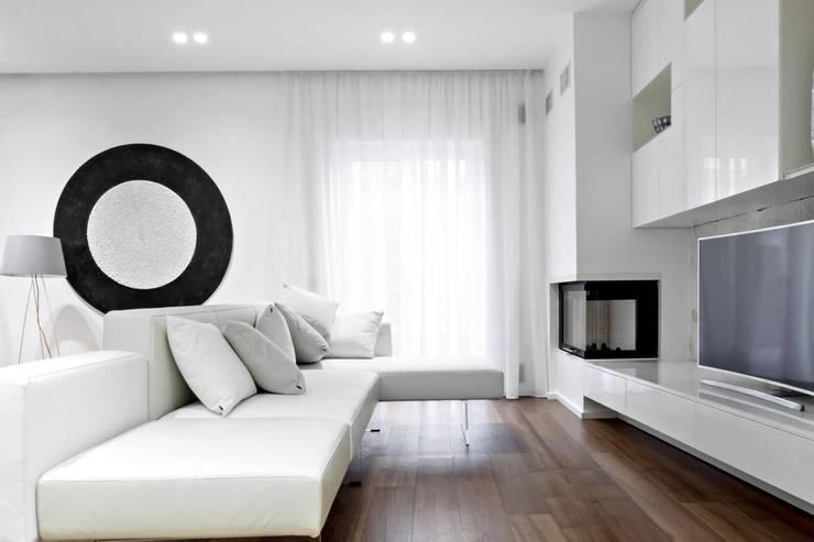 غرفة المعيشة تنفيذ m12 architettura design