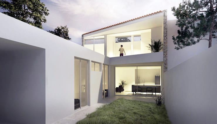 Houses by CCMP Arquitectura, Minimalist