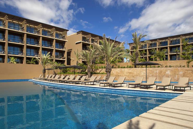 JW Marriott Los Cabos - IDEA Asociados: Casas de estilo  por IDEA Asociados