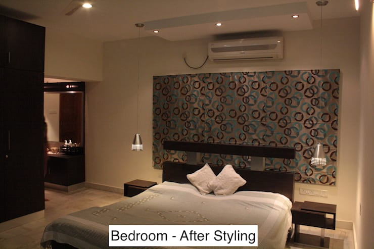 """Styling a Bedroom, Nayapalli, Bhubaneswar: {:asian=>""""asian"""", :classic=>""""classic"""", :colonial=>""""colonial"""", :country=>""""country"""", :eclectic=>""""eclectic"""", :industrial=>""""industrial"""", :mediterranean=>""""mediterranean"""", :minimalist=>""""minimalist"""", :modern=>""""modern"""", :rustic=>""""rustic"""", :scandinavian=>""""scandinavian"""", :tropical=>""""tropical""""}  by Schaffen Amenities Private Limited,"""