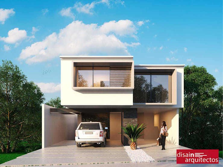 Casa Väljad D-2: Casas de estilo mediterraneo por disain arquitectos