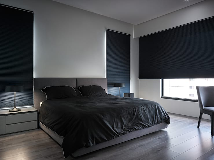 minimalistic Bedroom by Taipei Base Design Center