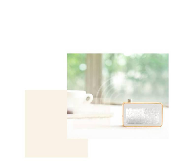 Wooden wireless speaker:   by mochi