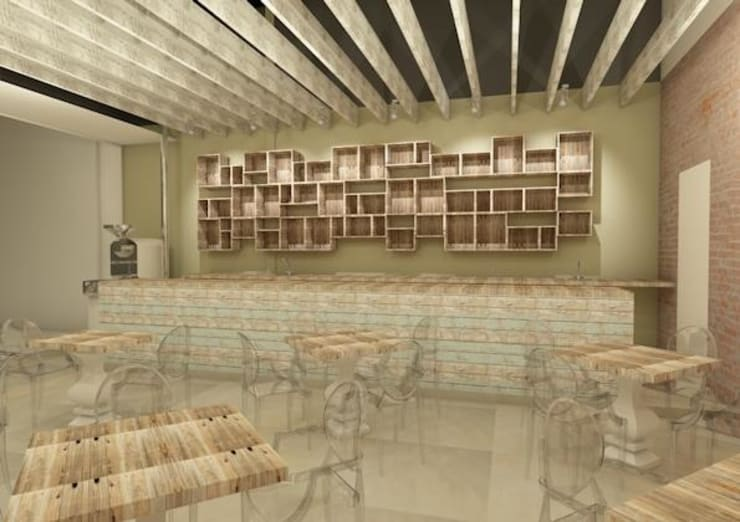 Rendering of the coffee bar:   by Seven Stars Developments