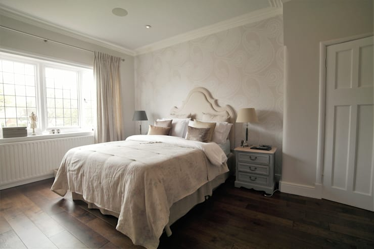 Alexandra Palace:  Bedroom by Patience Designs