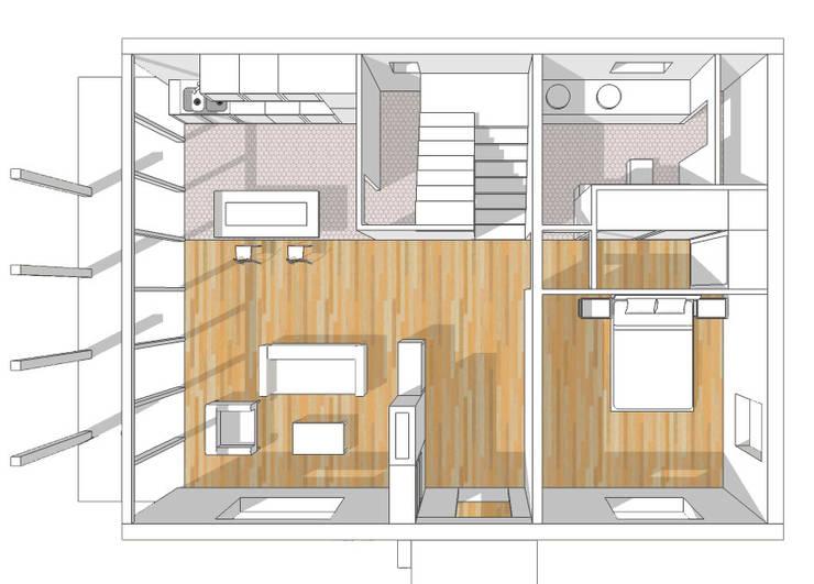 de estilo  por Estudo de Arquitectura Denís Gándara