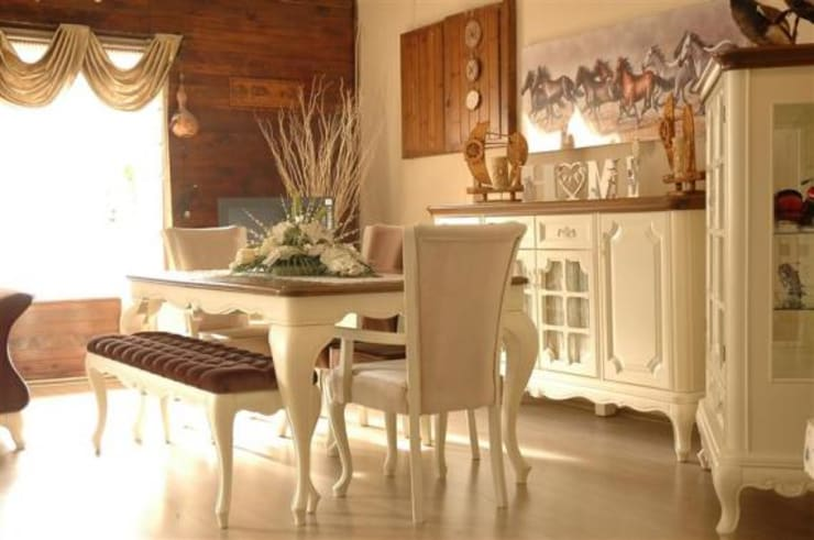 غرفة السفرة تنفيذ Baloğlu Mobilya - Avangarde & Country & Provincial