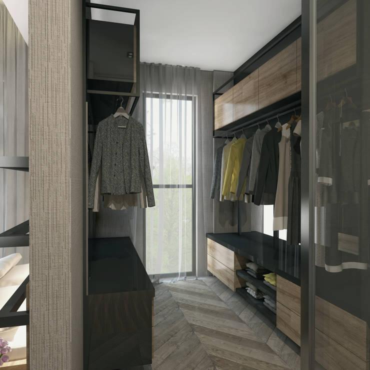 Projekty,  Garderoba zaprojektowane przez Voltaj Tasarım