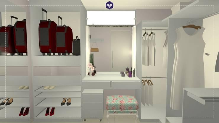 Dressing room by Kestie Arquitetura