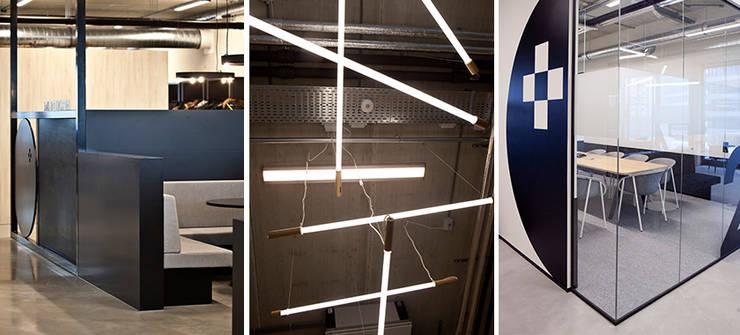 Kantoor Pand Houthavens:  Kantoren & winkels door Binnenvorm