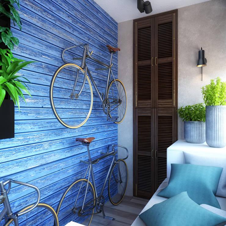 Projekty,  Taras zaprojektowane przez Loft&Home