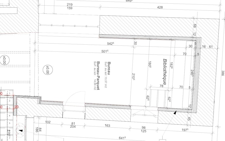 Phòng học/Văn phòng by Architecture d'intérieur CA