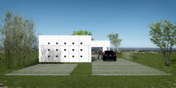 Vivienda LOU: Casas de estilo moderno por BDB Arquitectura