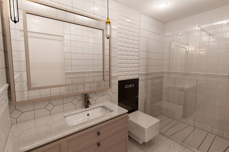 50GR Mimarlık – halkalı_1+1 daire:  tarz Banyo