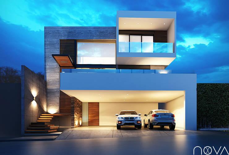 Casas de estilo minimalista por Nova Arquitectura