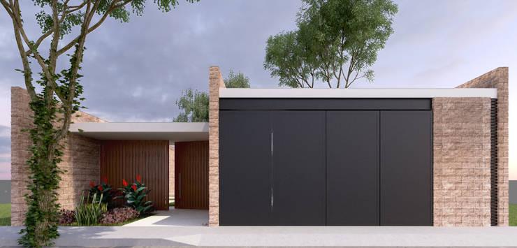 Casas de estilo  por EMERGENTE | Arquitectura