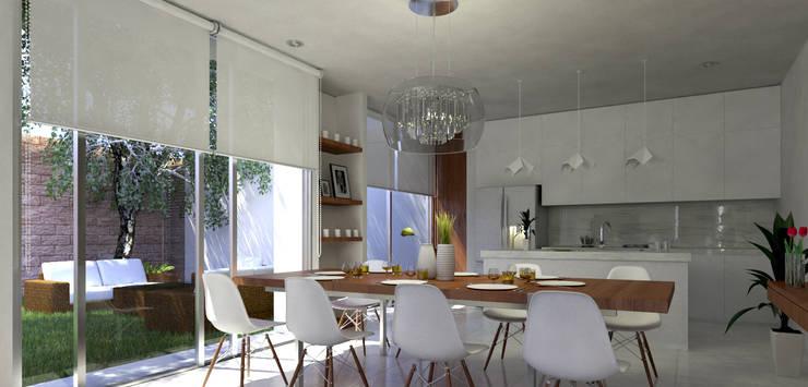 غرفة السفرة تنفيذ EMERGENTE | Arquitectura