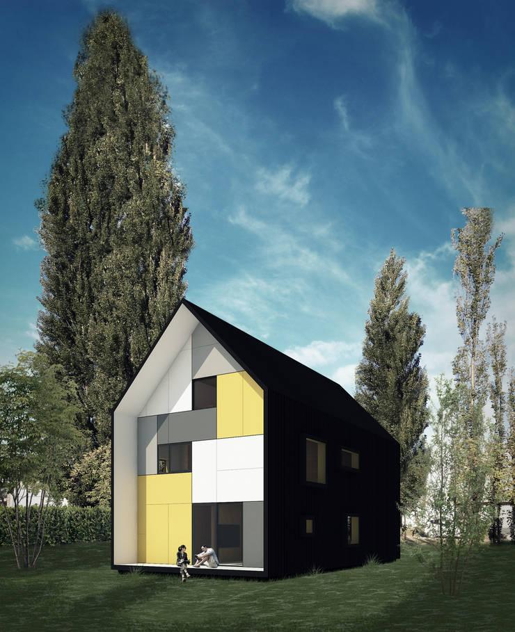 Vivienda Cabox: Casas de estilo  por BDB Arquitectura,