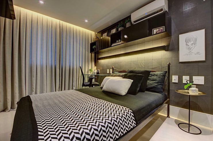 Bedroom by Dome arquitetura