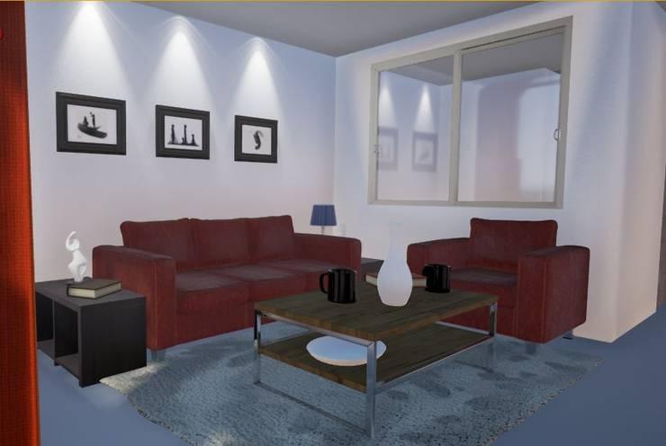 casa Duarte:  de estilo  por TECNICAD ARQUITECTURA