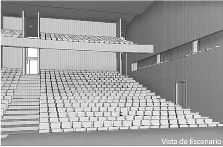 teatro Girardot:  de estilo  por TECNICAD ARQUITECTURA