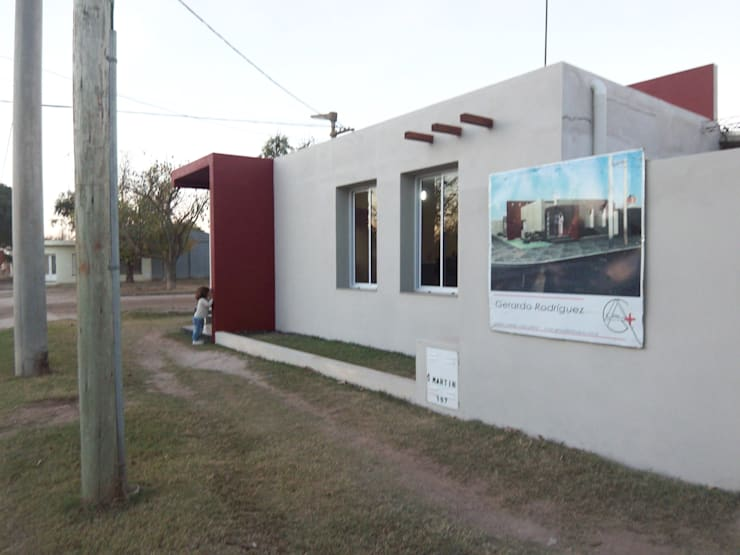 Casa Molina: Casas de estilo  por Arq. Gerardo Rodriguez,Moderno