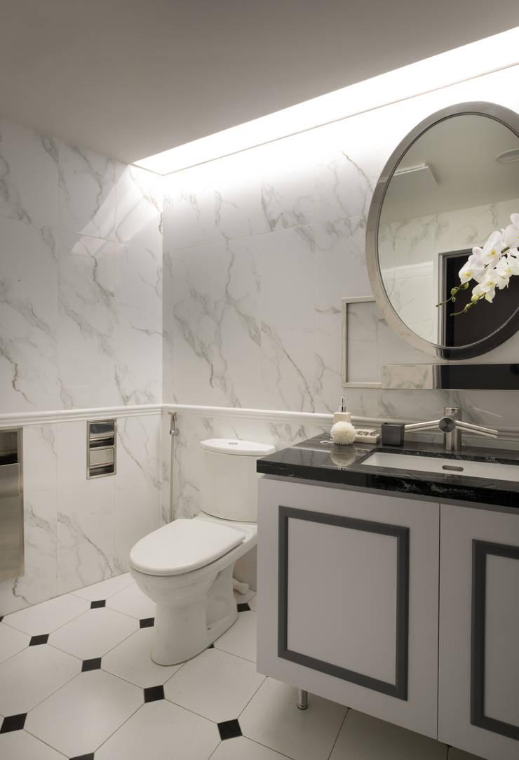 廁所:  商業空間 by 澄穆空間設計