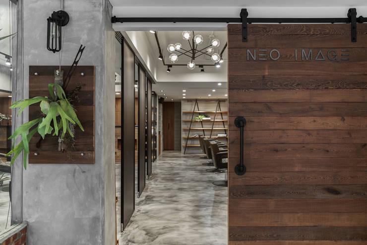 Neo Image Hair Studio:  商業空間 by 澄穆空間設計