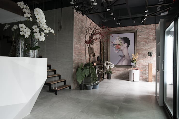 FIALA  FLORIST:  商業空間 by 澄穆空間設計