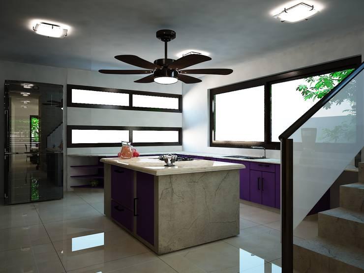 Minimalistische Küchen von Ecourbanismo Minimalistisch