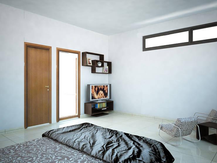 Minimalistische Schlafzimmer von Ecourbanismo Minimalistisch