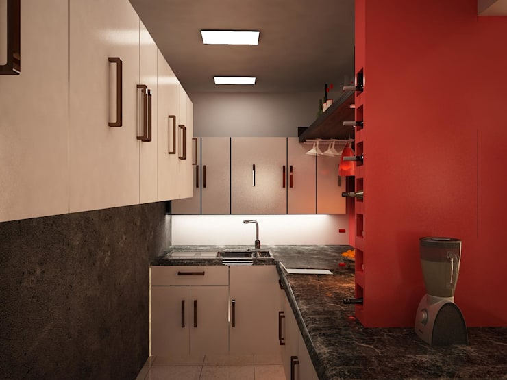 Kitchen by Ecourbanismo