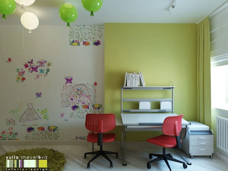 Modern Kid's Room by Мастерская интерьера Юлии Шевелевой Modern