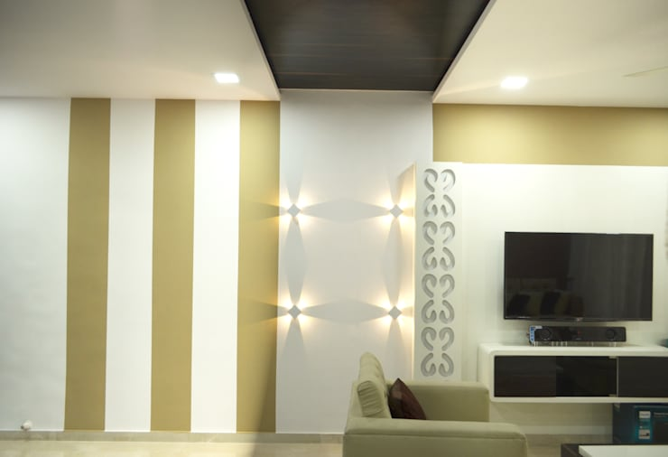 Living room by Koncept Architects & Interior Designers,