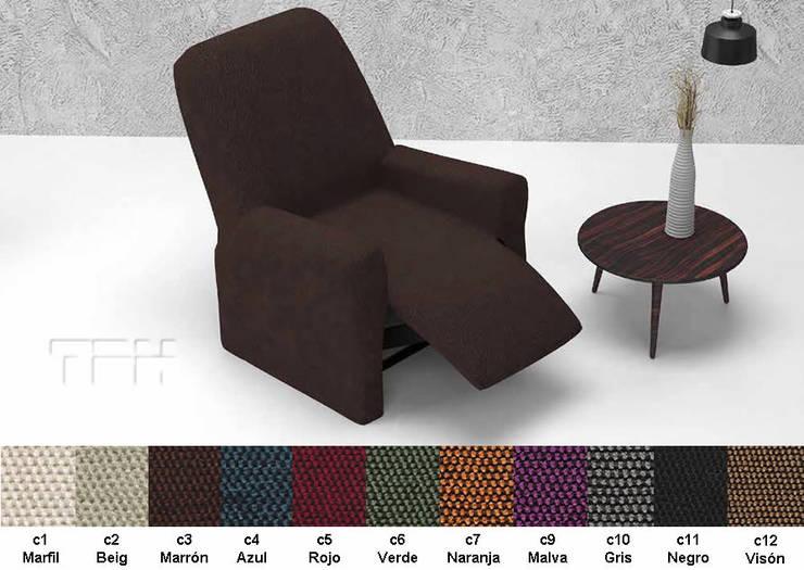 6d976055277a Fundas sofá modelo Viena. funda silla con respaldo Viena: Salones de estilo  de TPH ...