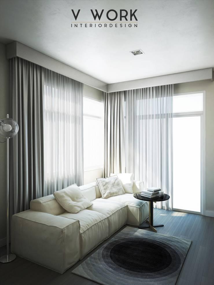 KHUN GRACE RESIDENTIAL.:   by V WORK Interior Design