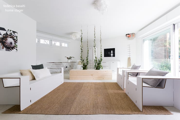 Living room by federica basalti home staging